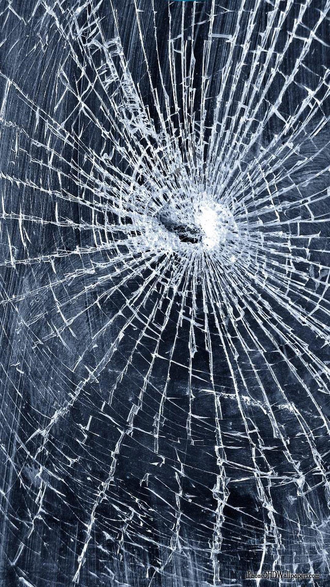 Iphone X Cracked Broken Screen Wallpaper Broken Glass Wallpaper