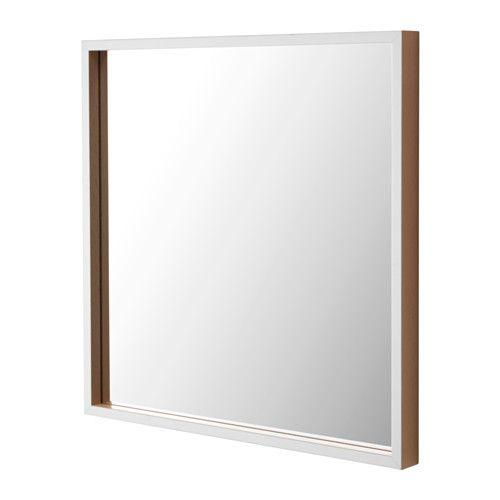 IKEA - SKOGSVÅG, Speil, , Kommer med sikkerhetsfilm - minsker risikoen for skader om glasset knuses.Passer i de fleste rom og er testet og godkjent for bruk i baderom.