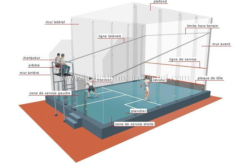 Afficher l'image d'origine | Squash rackets, Squash game ...