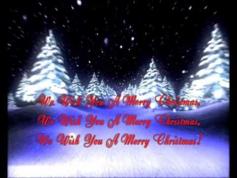 We Wish You A Merry Christmas Song Video Lyrics Merry Christmas Lyrics Merry Christmas Song Christmas Song