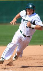 Michigan State baseball beat Purdue handily on Sunday afternoon at McLane Stadium, 8-1. The Spartans (24-13, 7-5) got an excellent performance out of left-hander Anthony Misiewicz in his first-career start. He allowed just one unearned run and four hits to Purdue in the win. He also had three strikeouts. The Boilermakers fell to 13-27 and 5-12 in the Big Ten.