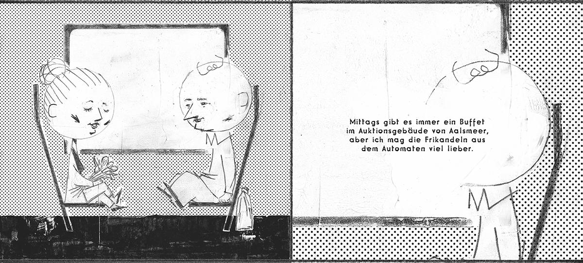 Jonathan Kröll, Comic