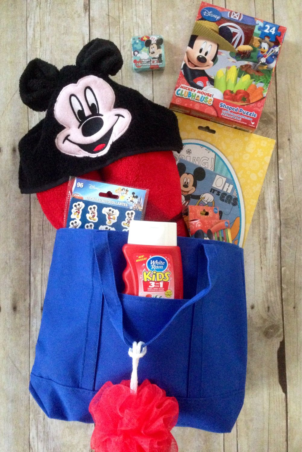mickey mouse inspired filled easter basket mickey mouse pre made easter basket disney