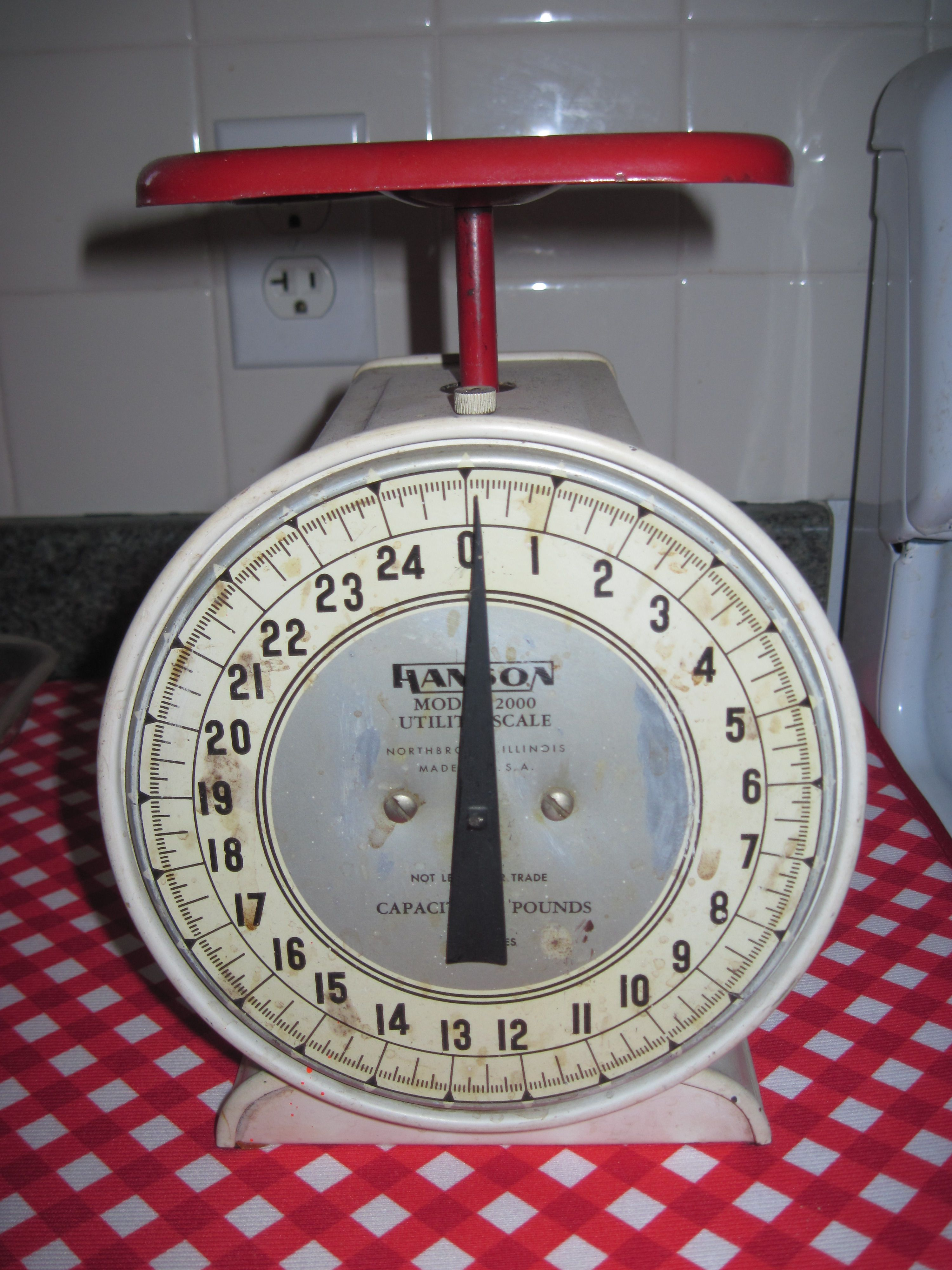 Scale in my Dad's Kitchen | MY CoUnTrY StYLe | Pinterest | Dads ...