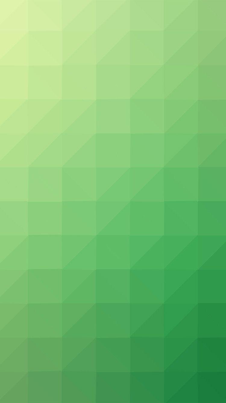 Green Yellow Polyart Pattern Wallpaper Hd Iphone Green