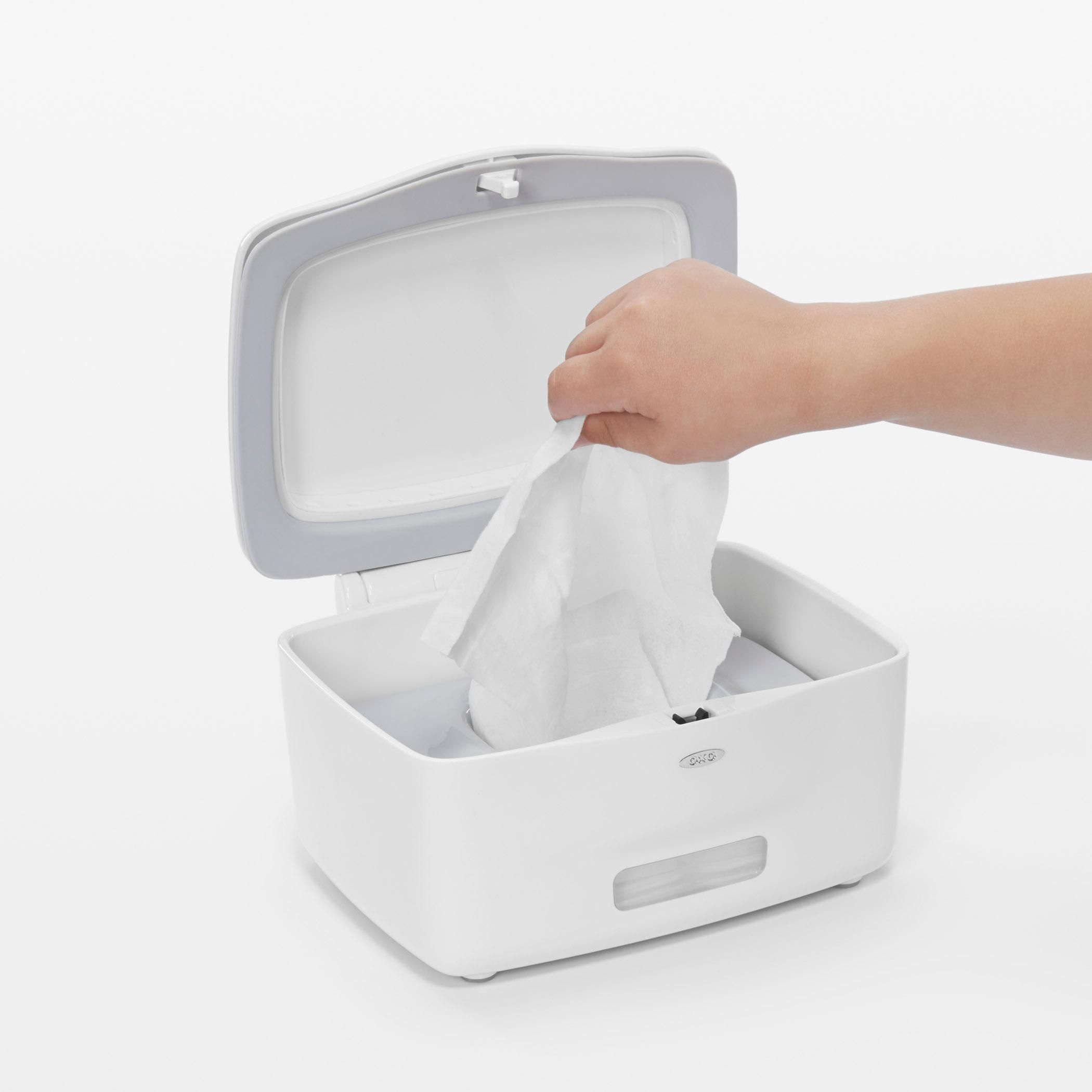Oxo Tot Perfectpull Tm Wipes Dispenser With Weighted
