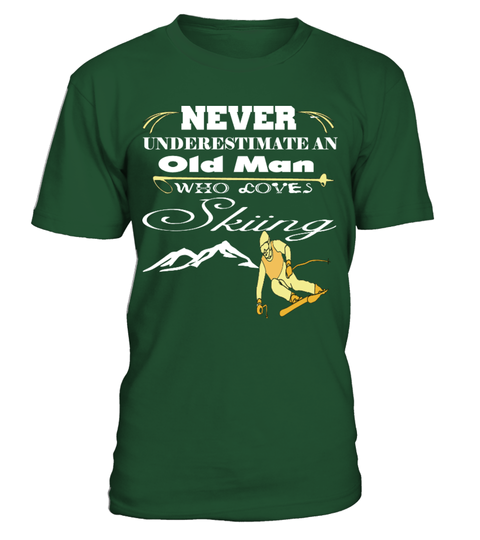 "# Never Underestimate An Old Man Who Loves .  #Never Underestimate An Old Man Who Loves Skiing Guaranteed safe and secure checkout via :   PayPal | VISA | MASTERCARD   ***HOW TO ORDER?   1. Select style and color 2. Click ""Buy it Now"" 3. Select size and quantity 4. Enter shipping and billing information 5. Done! Simple as that!     TIP: SHARE it with your friends, order together and save on shipping."