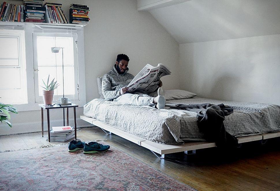 Floyd Platform Bed Diy platform bed, Alternative
