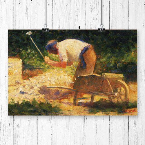 Poster The Storm Breaker von Georges Seurat, Kunstdruck East Urban Home Größe: 33,1 cm x 84,1 cm