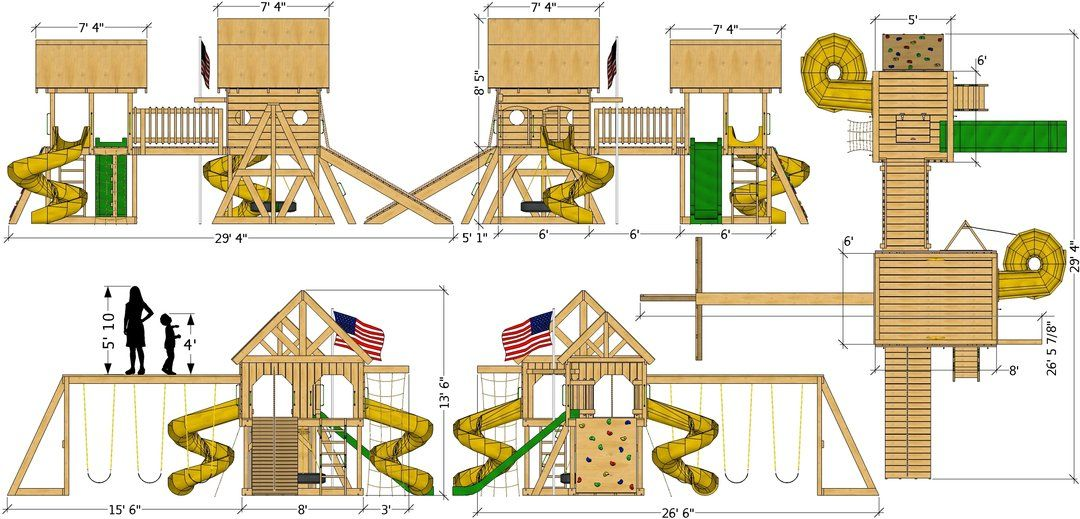 Photo of O'Connor Play-set Plan (2‑Sizes Sold Separately)