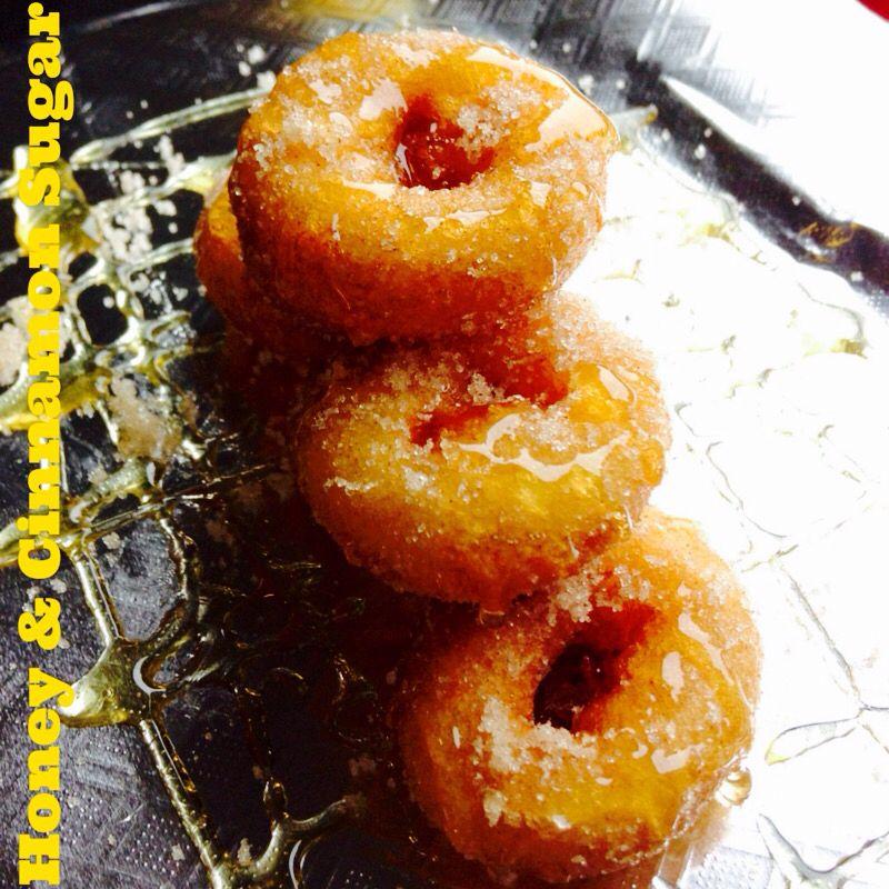 Honey goodness #bigfootslittledonuts