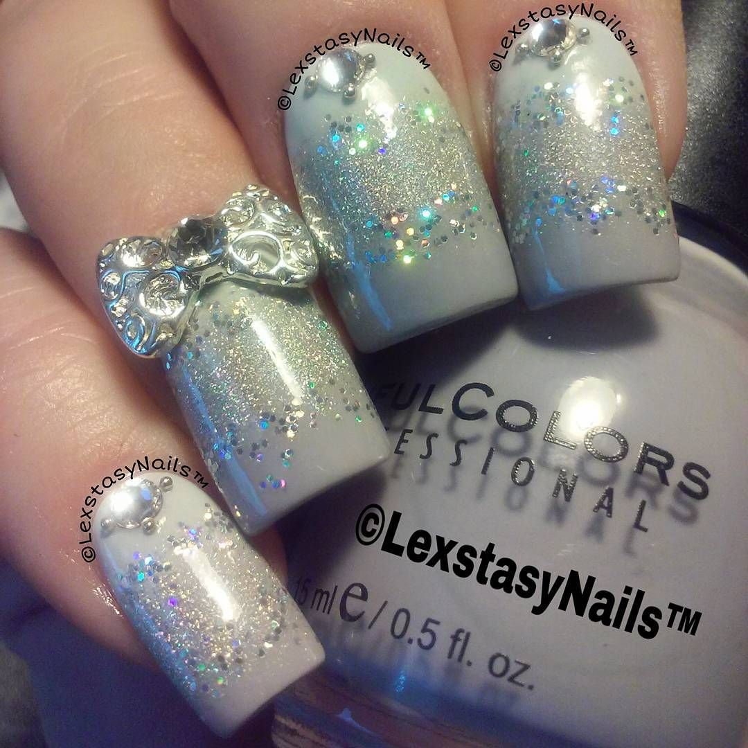 Fresh Paint Firefly ; Milani HD ; Sinful Colors Mauve ; loose glitter ; 10/21/15 ; lexstasynails