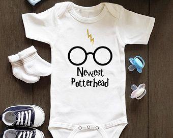 Harry potter onesie | Etsy in 2020 | Harry potter onesie ...