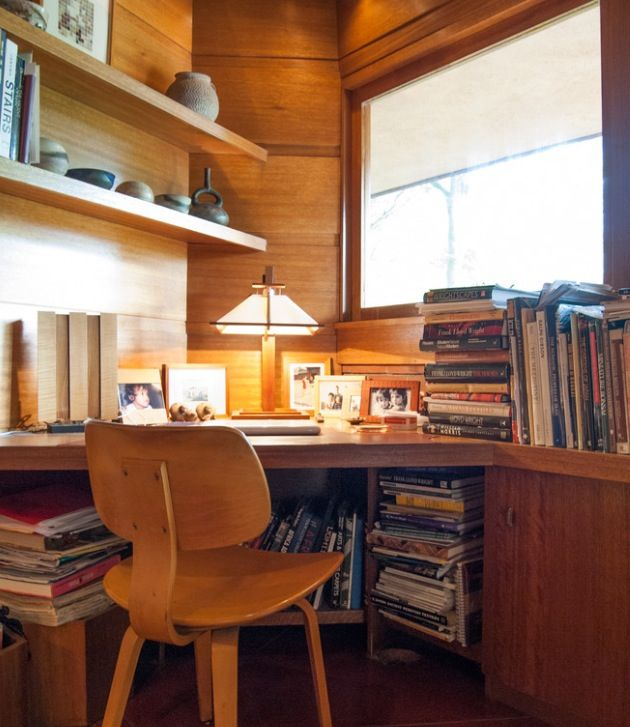 Contemporary Dark Oak Office Desk with X Shape Legs ...