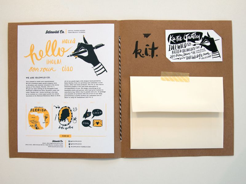 Press Kit // Idlewild Co. | National Stationery Show | #thankgodprepisover .