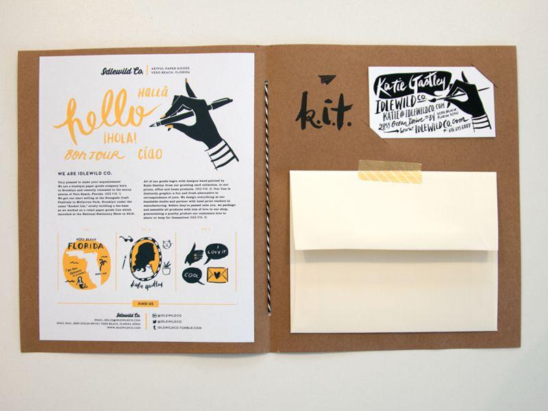 press kit // Idlewild Co. National Stationery Show