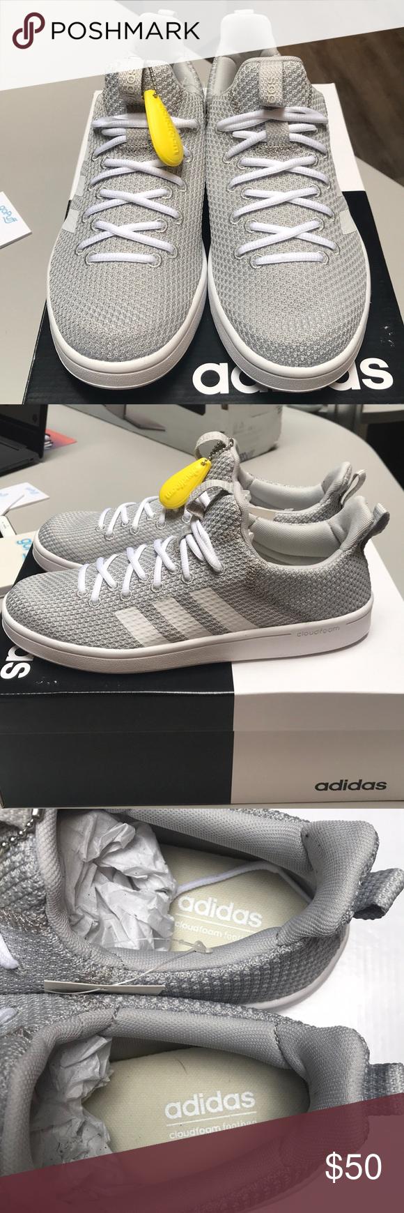 1deec80d202 Adidas Cloudfoam Advantage Adapt - Womens Size 8.5. Grey Cloud White ...