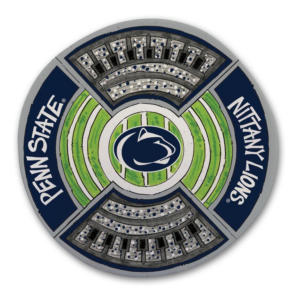 Magnolia Lane Penn State Football Stadium Melamine Platter