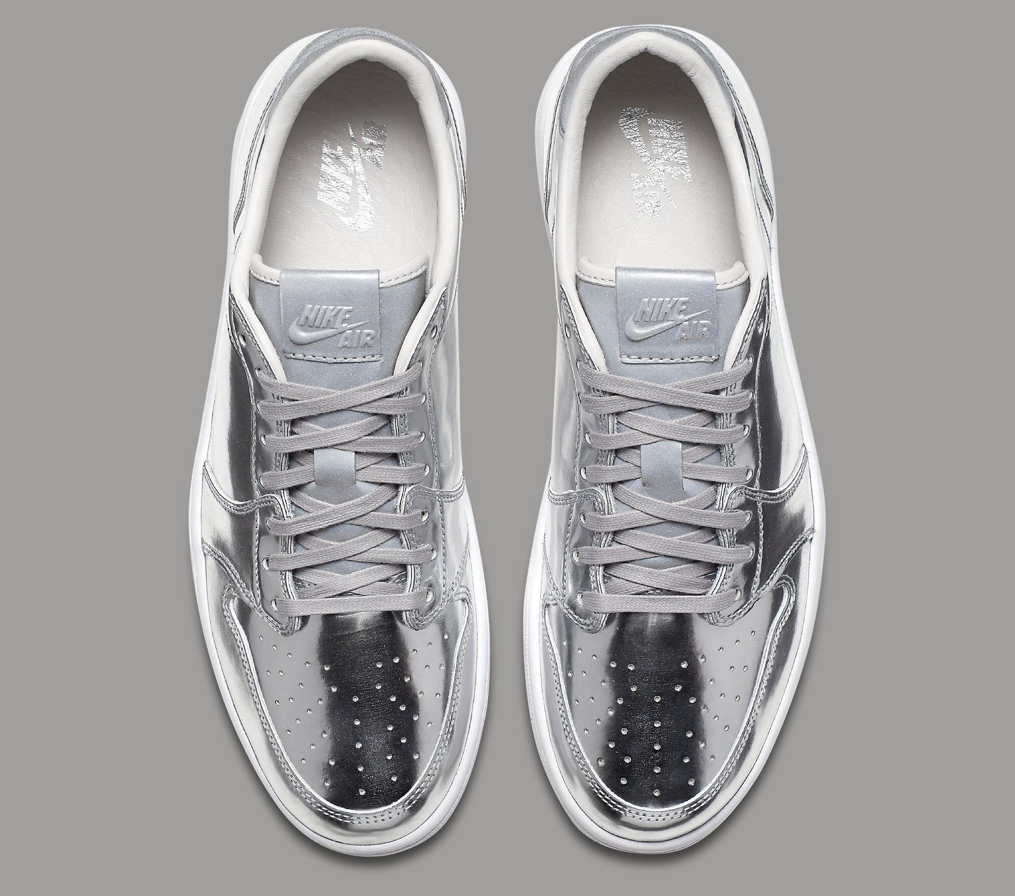 5fd4a475207 Pinnacle Air Jordan 1 Low Silver Release Date | Sole Collector ...