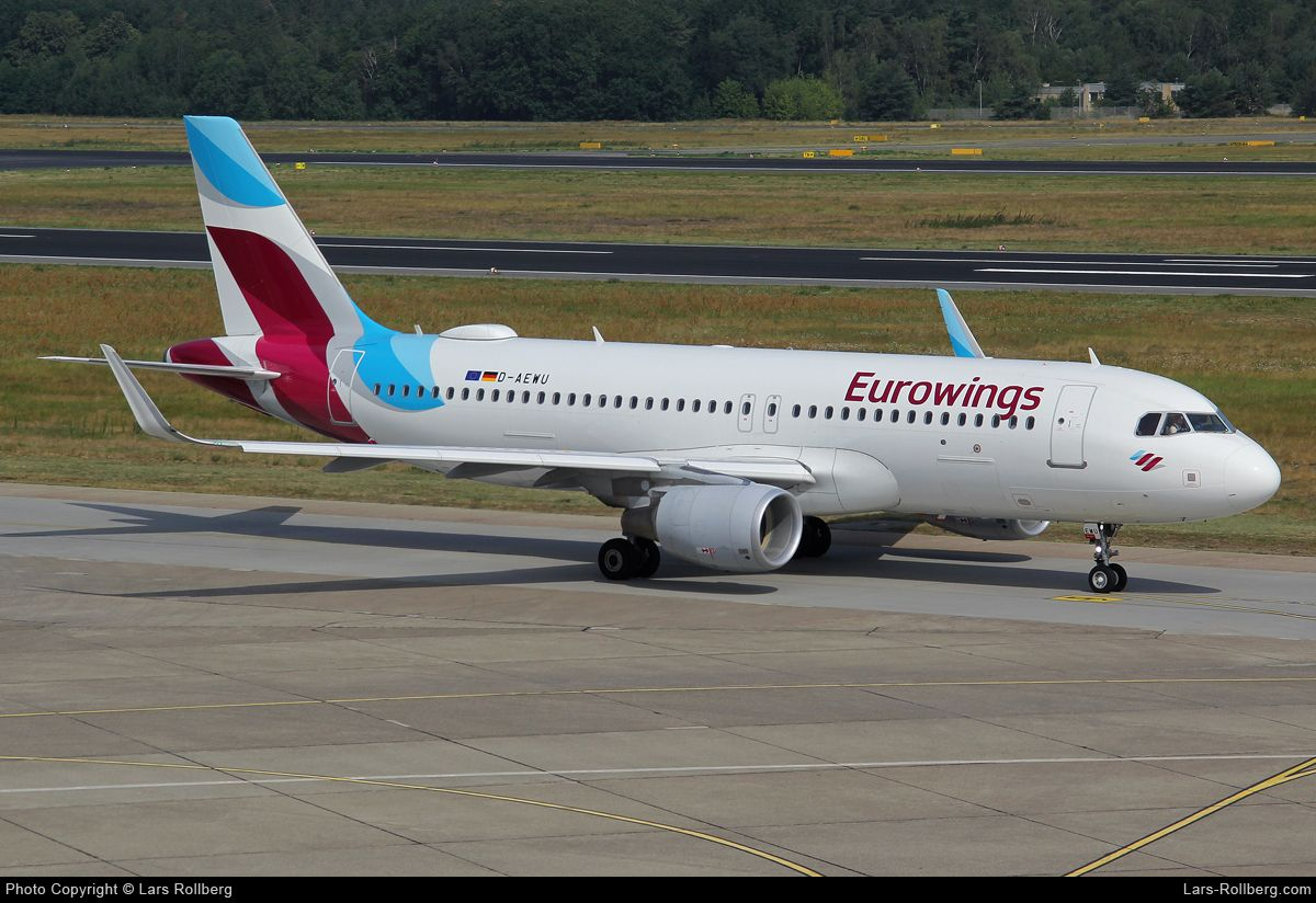 DAEWU, Eurowings, Airbus A320214, cn 7513 ในปี 2020
