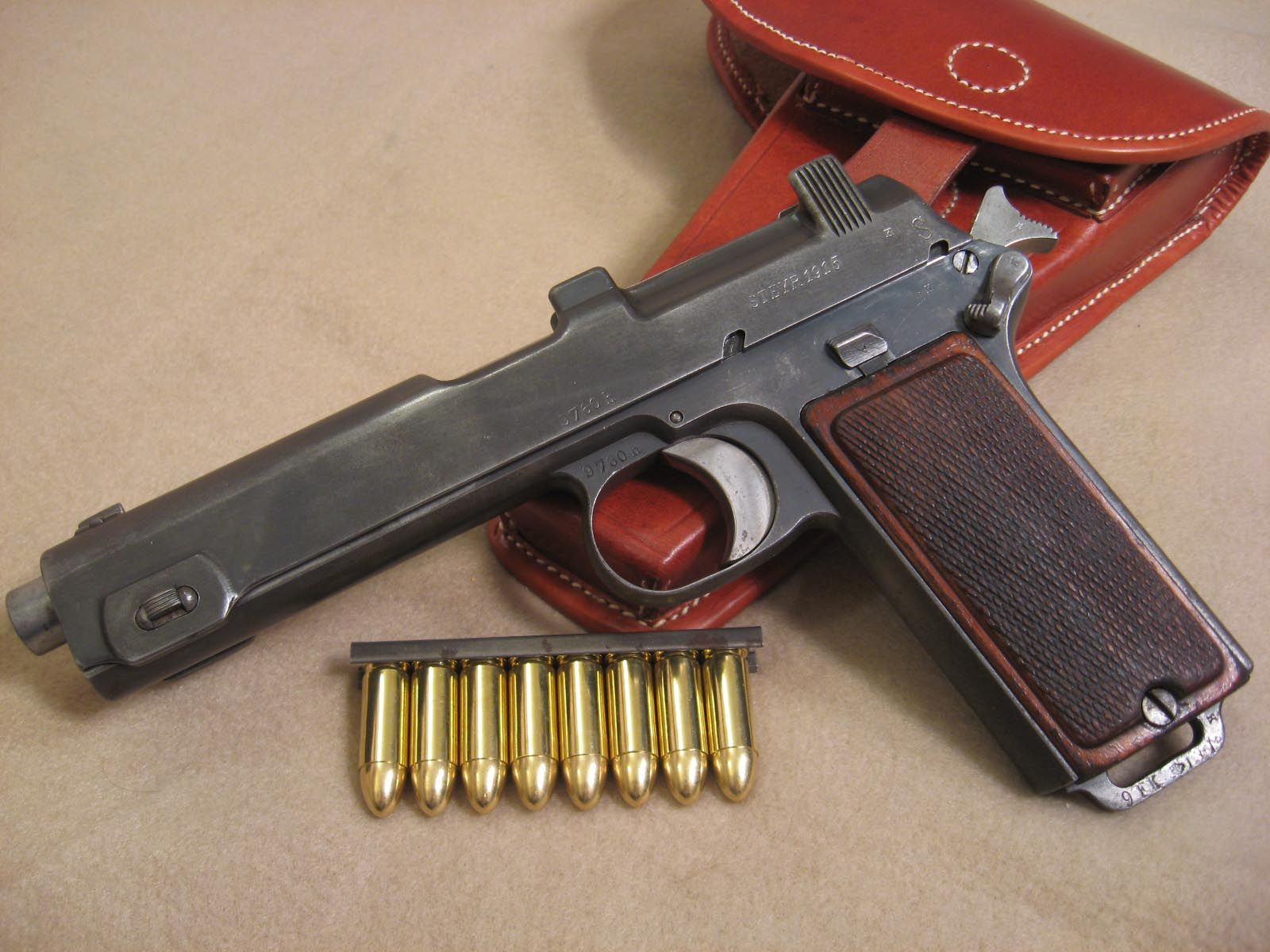 Cool! Ammo and Gun Collector The Steyr Model 1911 / Model
