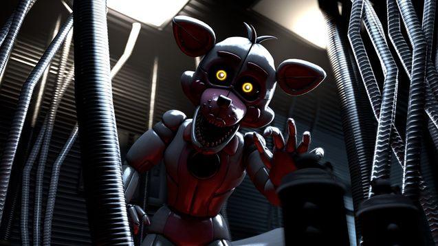 Steam Workshop :: [FNAF:SL] Funtime Foxy | Funtime Foxy/Freddy
