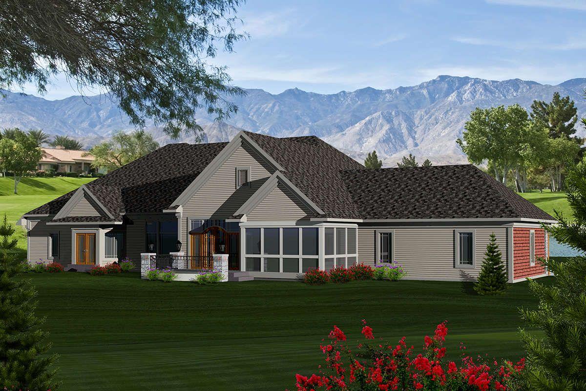 Craftsman House Plan 1020