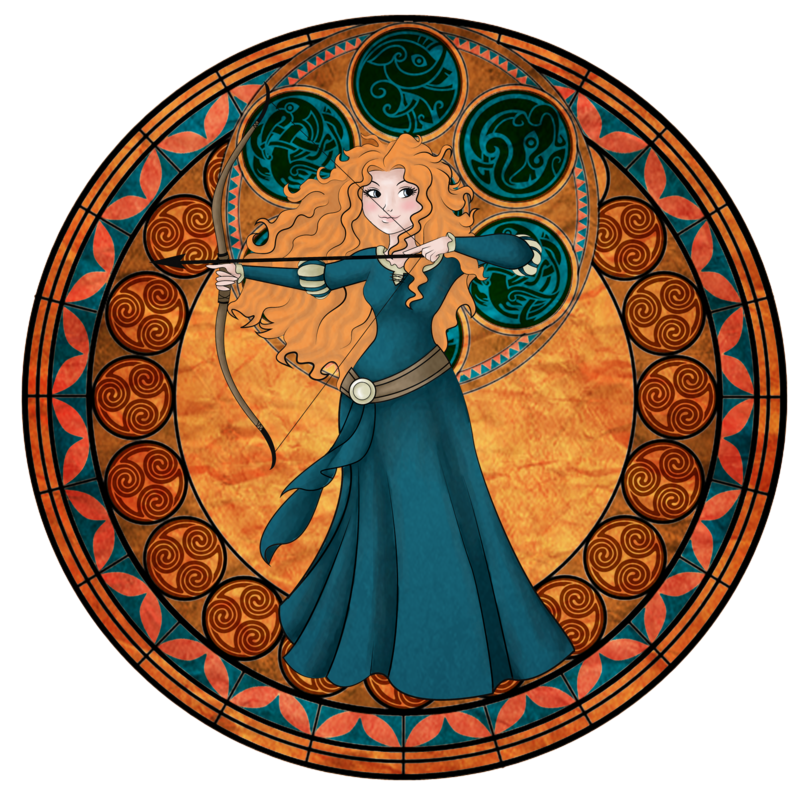 KH Merida Station by ~Ivalyss on deviantART --Merida from Disney's Brave meets Kingdom Hearts