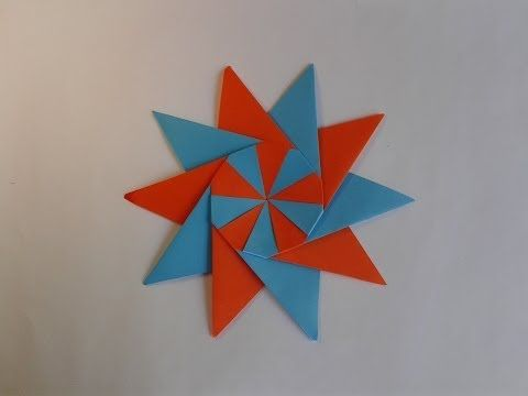 Origami Flower Paper Flowers Easy To Make Origami Stars Origami Crafts Origami Paper Art