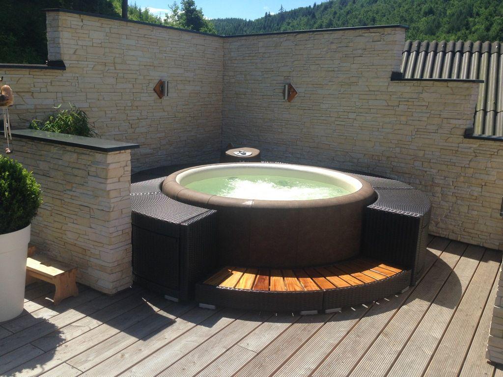 Softub Whirlpools Whirlpool Garten Aufblasbar Whirlpool Garten Whirlpool Hinterhof