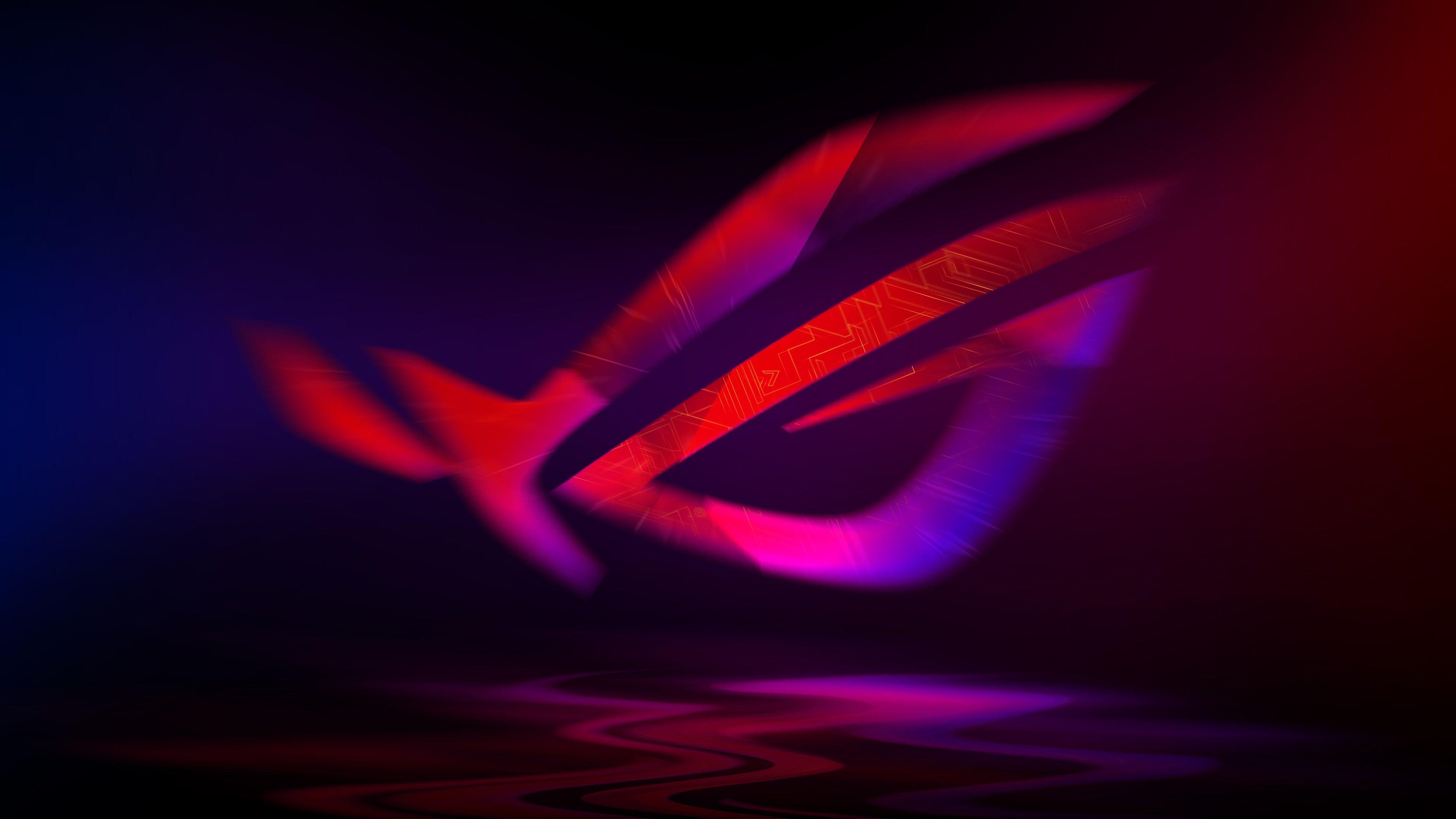 ASUS ROG Neon 4K 4K wallpaper hdwallpaper desktop in