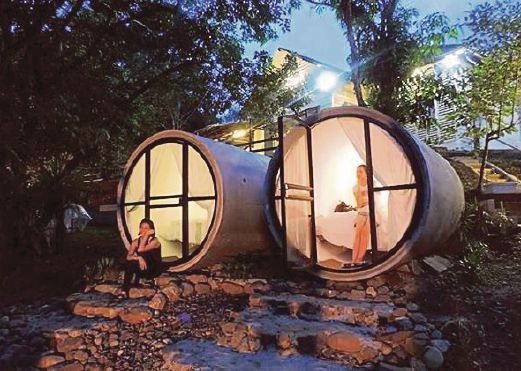 Concrete Culvert Sg Lembing Resort Rooms An Instant Hit Hotel Room Design Bubble House Concrete