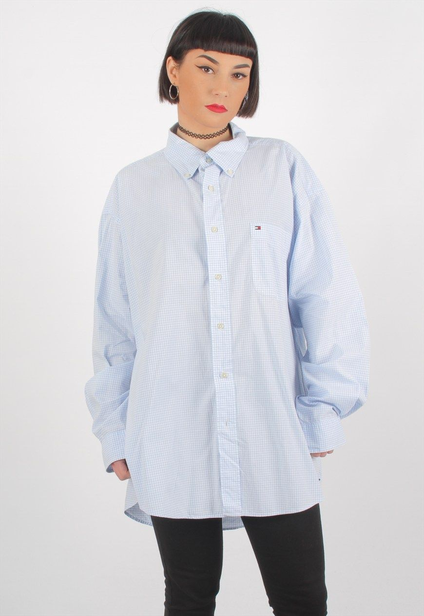 Vintage Tommy Hilfiger Checkered Shirt | GULLYGURLS | ASOS Marketplace
