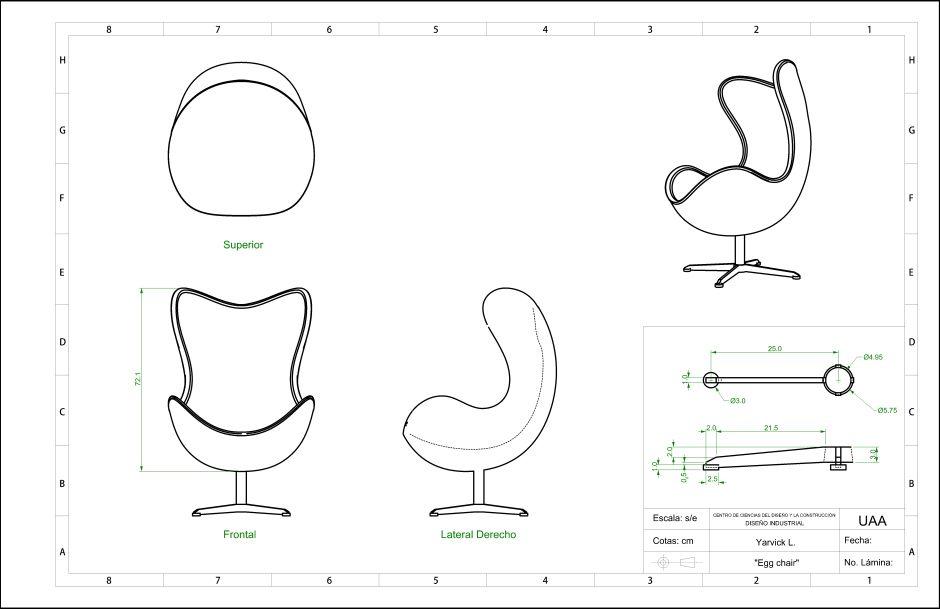 Jacobsen Egg Chair Blueprint Portofolio Insp Egg Chair Chair