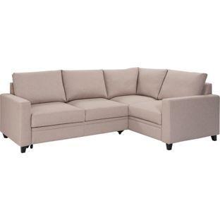 Buy Argos Home Seattle Right Corner Fabric Sofa Bed Natural Sofa Beds Fabric Sofa Sofa Bed Natural Sofas