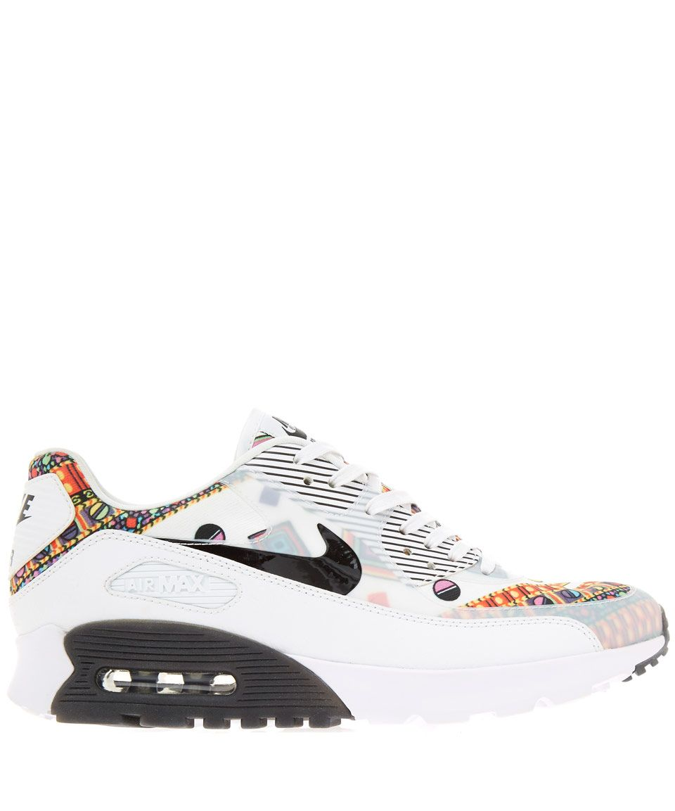 size 40 ed054 ab29f Nike X Liberty White Merlin Air Max 90 Ultra Trainers   Womenswear   Liberty .co.uk