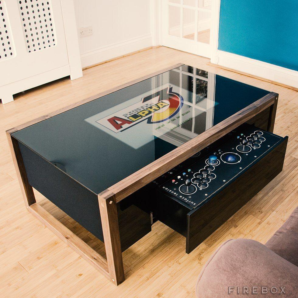 Arcane arcade table at arcade table coffee