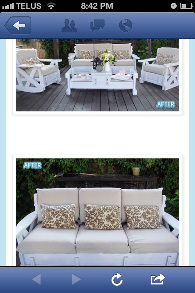 Refurbished Furniture Ohhhh Take An Old Sofa Like Your Gma Used To Have And Turn