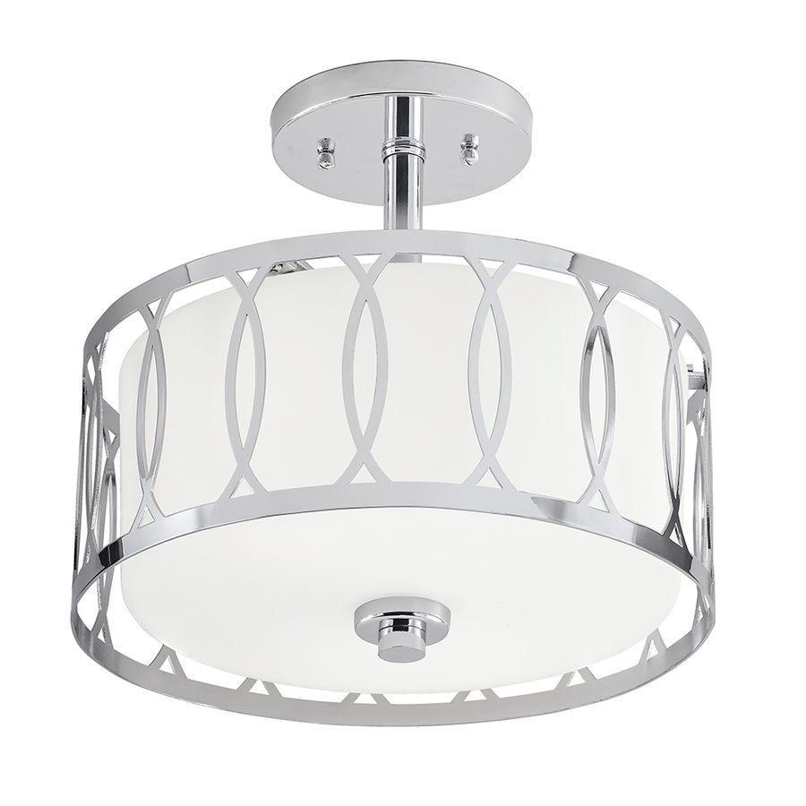 Elegant Semi Flush Mount Entry Light