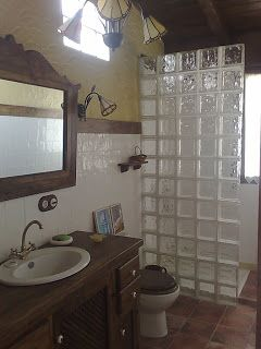 ConstruArte El Zaguán: Baños rústicos | Baños | Baños ...