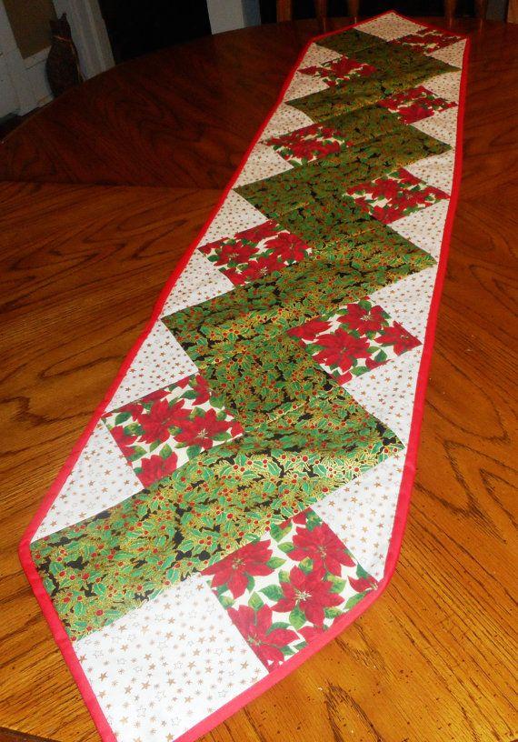 Christmas Zig Zag Table Runner