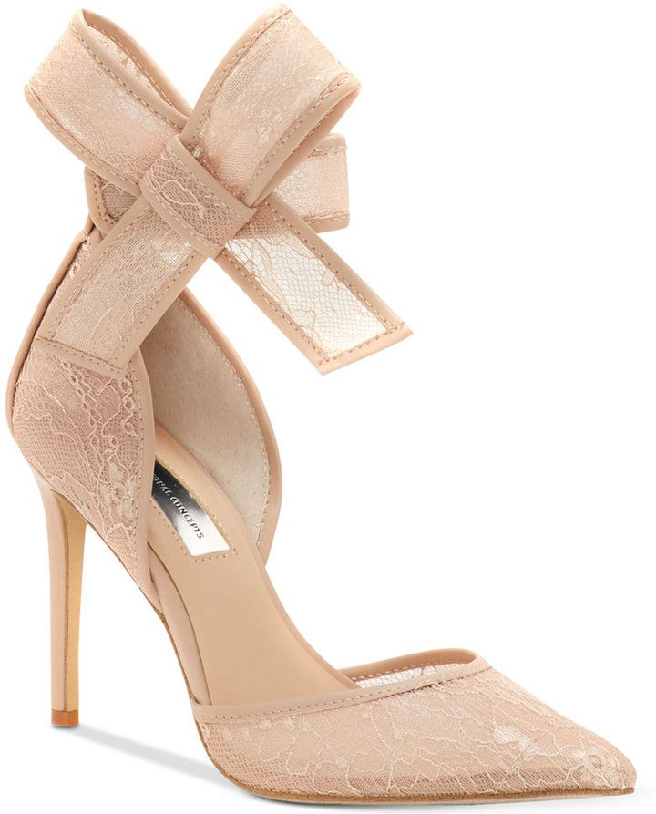 94e77a51b1 INC International Concepts Kaiaa Bow Evening Pumps, Created for Macy's  Women's Shoes