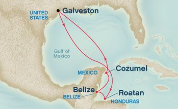 Princess Cruises Western Caribbean From Galveston Texas Took This Amazing Trip And Am Now