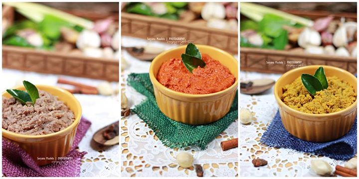 Resep Bumbu Dasar Kuning Merah Dan Putih Resep Resep Masakan Indonesia Makanan Dan Minuman