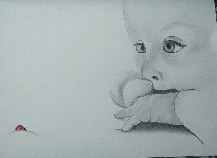 #drawing #baby