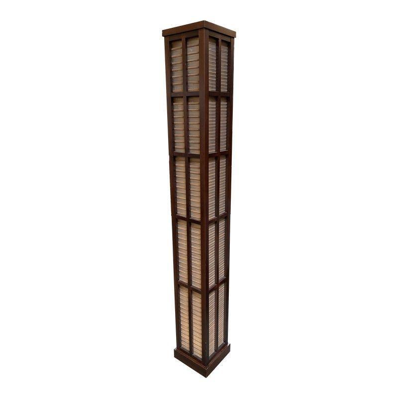 Custom Japanese Style Grasscloth Floor Lamp Floor Lamp Japanese Design Japanese