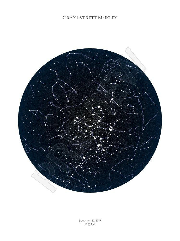 Star Map Posterhaste Gray S Room Pinterest Grey Room Room