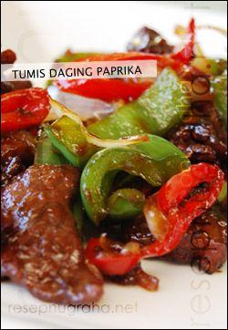 Daging Tumis Paprika Koleksi Resep Keluarga Nugraha Australia Recipes Asian Cuisine Food