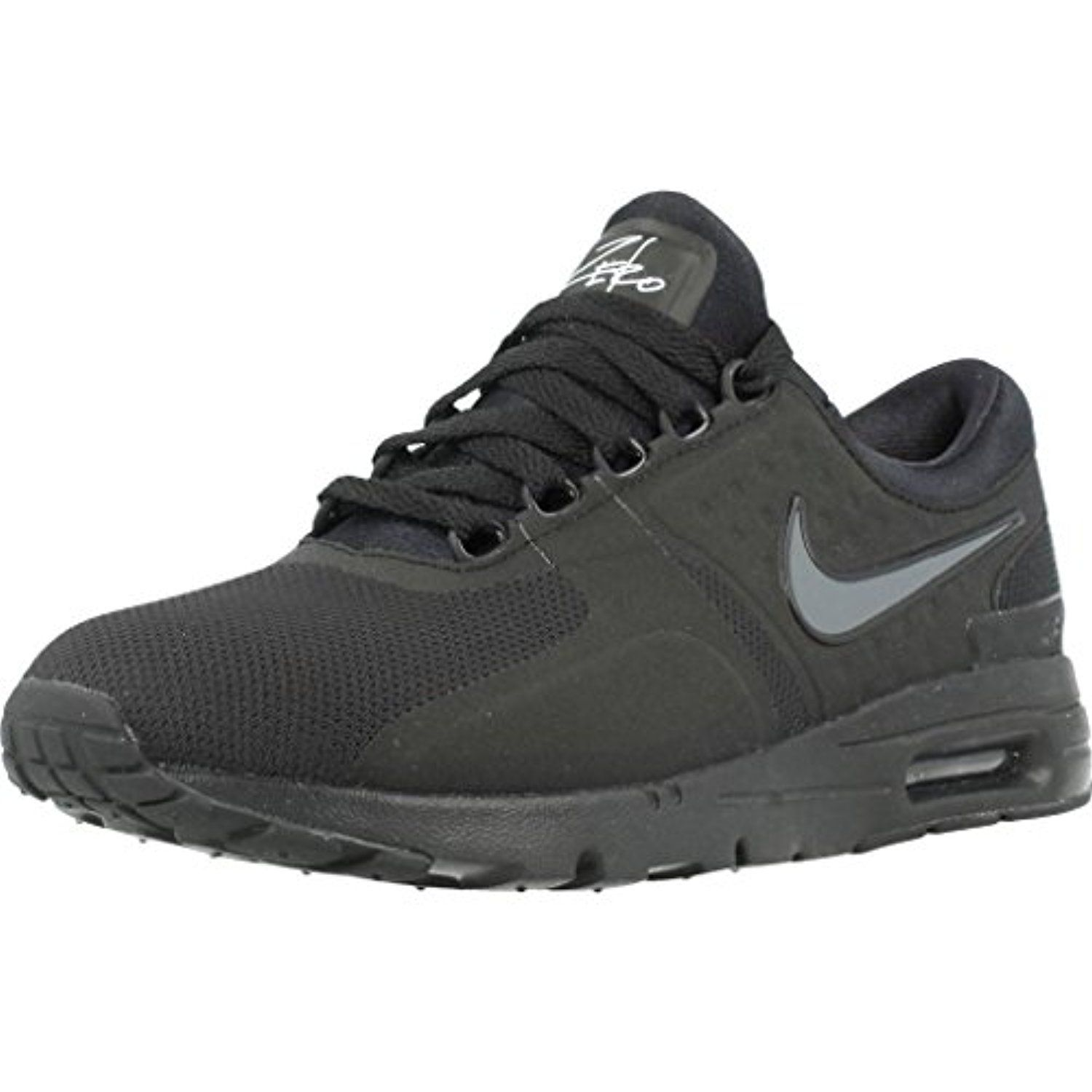 475db38a592538 857661-012 WOMEN W AIR MAX ZERO NIKE BLACK DARK GREY WHITE    You can get  additional details at the image link. (This is an affiliate link)  Shoes