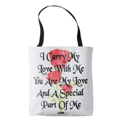 #Love Just Because Love Greeting by Kat Worth Tote Bag - #Xmas #ChristmasEve Christmas Eve #Christmas #merry #xmas #family #kids #gifts #holidays #Santa